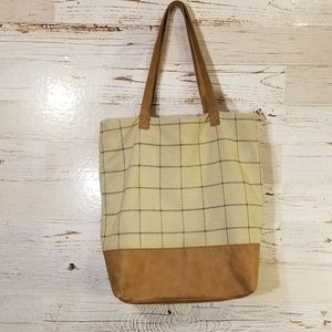 Merona large shoulder tote bag